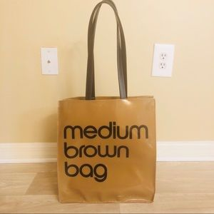 Bloomingdale's Medium Brown Bag
